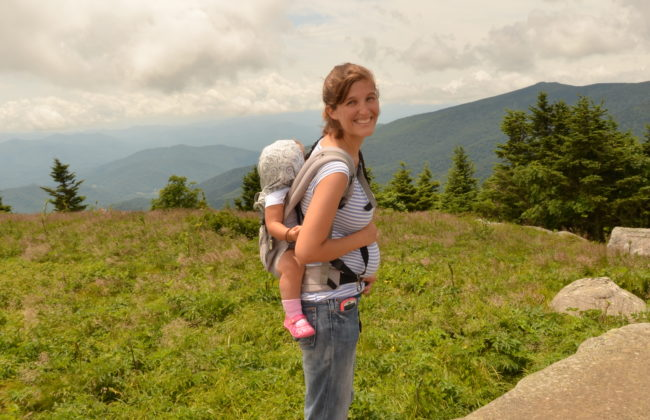 21 weeks and 4 days at Grassy Ridge Bald.